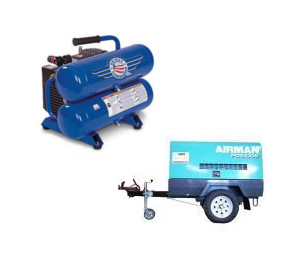 Compressor rentals in Southern Indiana