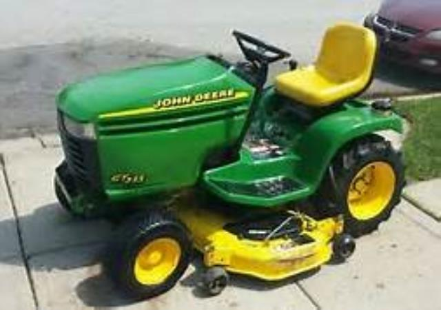 Where to find MOWER, RIDING - J.D. GT235 in Washington